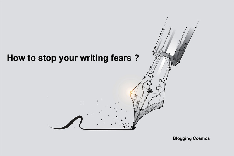 How to stop your writing fears